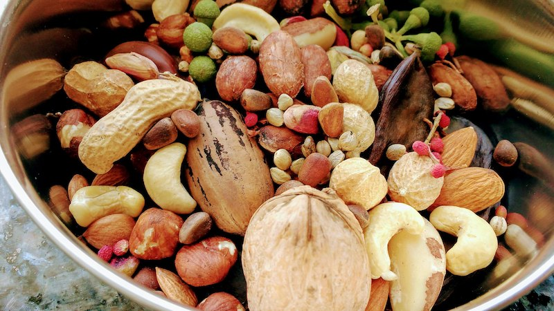 орехи для попугаев жако, какаду, ара, амазон, эклектусов, сенегалов, аратинг